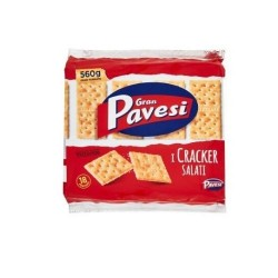 Gran Pavesi Crackers Salati In Superficie 560 gr