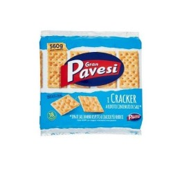 Gran Pavesi Crackers Non Salati In Superficie 560 gr