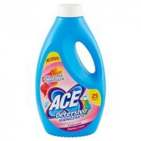 Ace Detersivi Liquido Colori Igienizzante 25 lavaggi