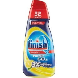 FINISH Gel Lavastoviglie All in 1 Max Power 32 lavaggi