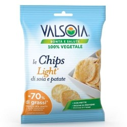 LE CHIPS LIGHT VALSOIA PATATINE NON FRITTE  25GR