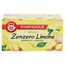 POMPADOUR Infuso Zenzero e Limone 20 filtri