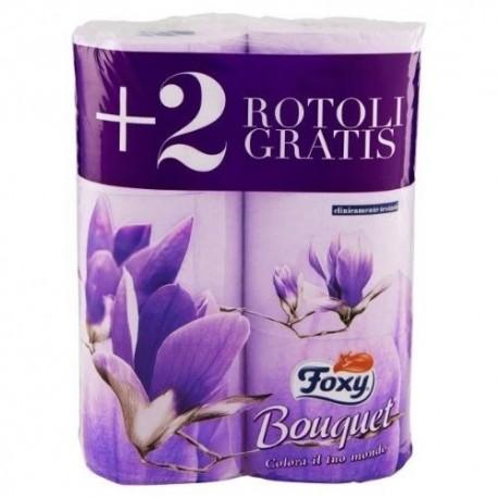 Foxy Carta Igienica Colorata 4+2 rotoli
