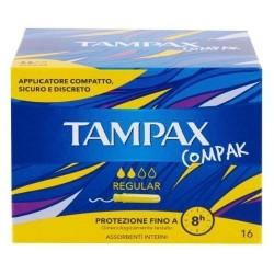 TAMPAX Compak Assorbenti Regular 16  pezzi