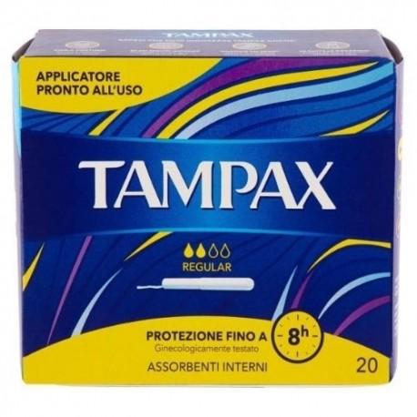 TAMPAX Regular 20 pezzi assorbenti interni