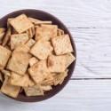 Pane e grissini crackers