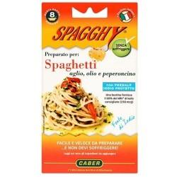 """SPAGGHY preparato per la ricetta """"olio,  aglio e peperoncino"""""""