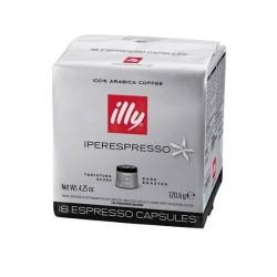 18 Capsule Illy Caffè Intenso