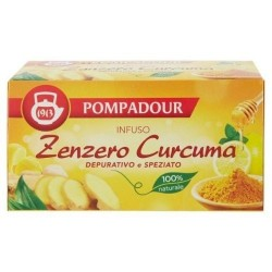 POMPADOUR Infuso Zenzero e Curcuma 20 filtri