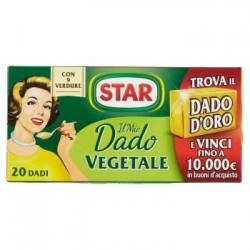 Star il Mio Dado Vegetale 20 dadi con 9 verdure 200 g