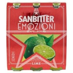 SANBITTÈR EMOZIONI LIME, APERITIVO ANALCOLICO 3x200 ml