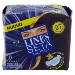 LINES SETA ULTRA NOTTE CON ALI X 10