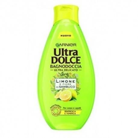 Garnier Ultra Dolce Bagnodoccia Limone e Fior di Sambuco 500 ml