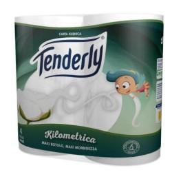 Tenderly Kilometrica Maxi Rotoli 4 pz