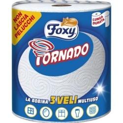 FOXY Bobina Tornado Blu 300 strappi