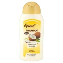 Splend'or Shampoo Addolcente Al Cocco Per Tutti Tipi di Capelli 300 ml