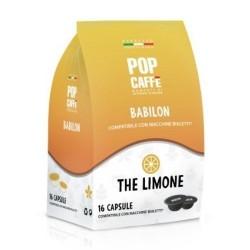16 Capsule The al limone Pop Caffe compatibili Bialetti