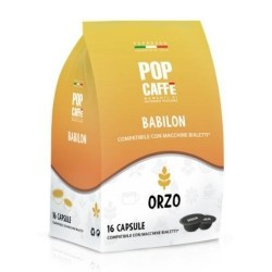 16 Capsule ORZO Pop Caffe compatibili Bialetti
