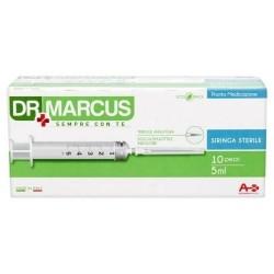 Dr Marcus Pronta Medicazione 10 siringhe sterili senza lattice 5 ml