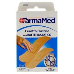 Farmamed Cerotto Elastico con Protezione Batteriostatica 20 pz