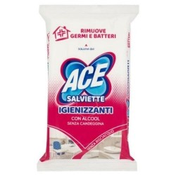 Ace Salviette Igienizzanti Con Alcool 40 pz
