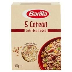 5 Cereali Con Riso Rosso Barilla 400 gr