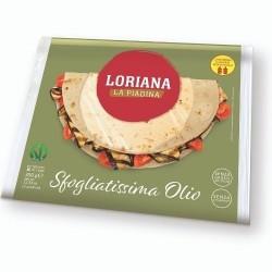 Loriana Piadina Sfogliatissima Olio 350 gr