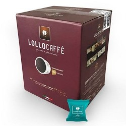 100 Capsule miscela DECA Lollo Caffè per espresso point