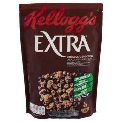 Kellogg's Extra Cioccolato e Nocciole 375 gr
