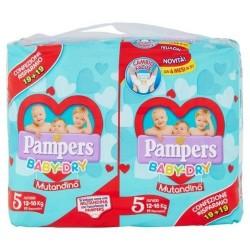 Pampers Baby-Dry Mutandino Junior Duopack x38