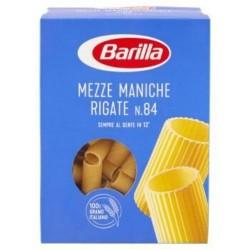 Mezze Maniche Rigate Barilla Pasta di Semola di Grano Duro 500 gr